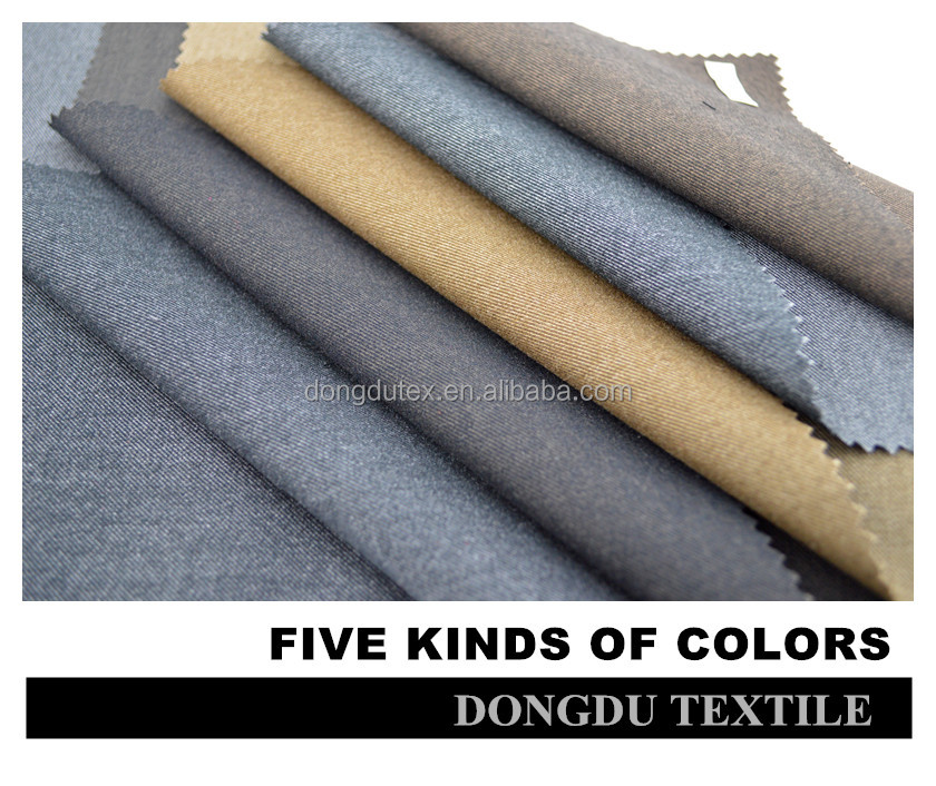 Blend woven dyed t r 70/30 brush fabric for men suit and pant for wholesale