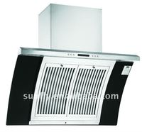 Chinese pacific range hood with CE ROHS LOH8800-08B (900mm)