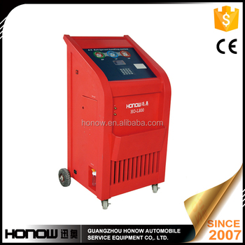 HO-L800 High performance car A/C refrigerant recovery and recharge machine