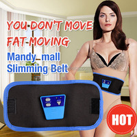 free shipping electric fat burning massage belt / vibration belly massage belt