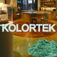 Metallic Color Pigments for decorative concrete flooring