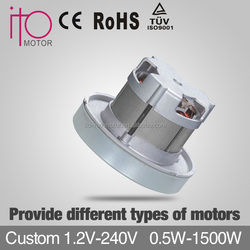 high efficiency/energy saving motor brushless,handheld ac motor for vacuum cleaner