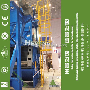 Surface Preparation Shot Blasting Machine / Iron Rust Removal Equipment