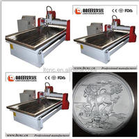 Advertising material cnc engraving machine,cnc router machine for aluminum/wood working machinery 1224