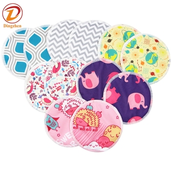 Mom borst pad wasbare bamboe make-up remover Doek pads
