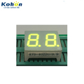 Multicolors and wide types seven segment 2 digit common anode 7 LED display