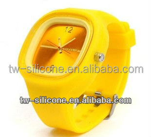 custom silicone jelly quartz watches top selling products 2013 gifts