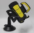 Car phone holder shield suction cup mount