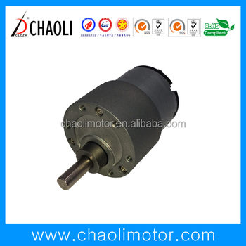 31mm low speed gear motor CL-G37-R500 for financial equipment auto parts