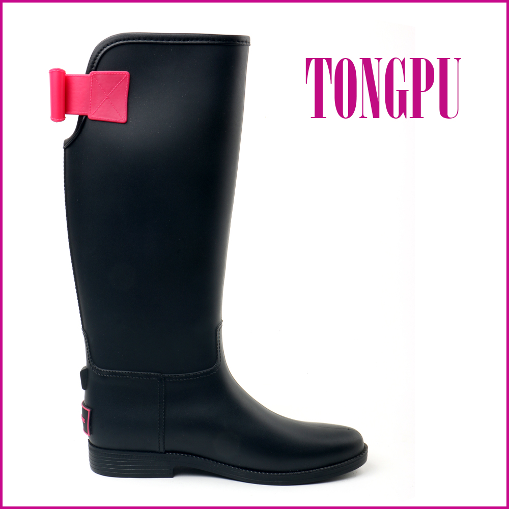 Hot sell rubber rain boot cover with construction pvc