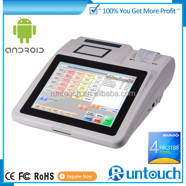 Runtouch RT-6120 Brand New Android POS Multi kiosk arm pos interactive touch panel for retail