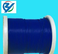 pvc coated steel wire rope,color wire rope