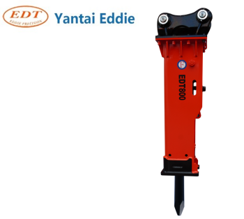 YANTAI EDDIE PRECISION 10 tons class Chinese first brand EDT EDDIE Hydraulic hammer breaker chisel 100 for PC150ZX150