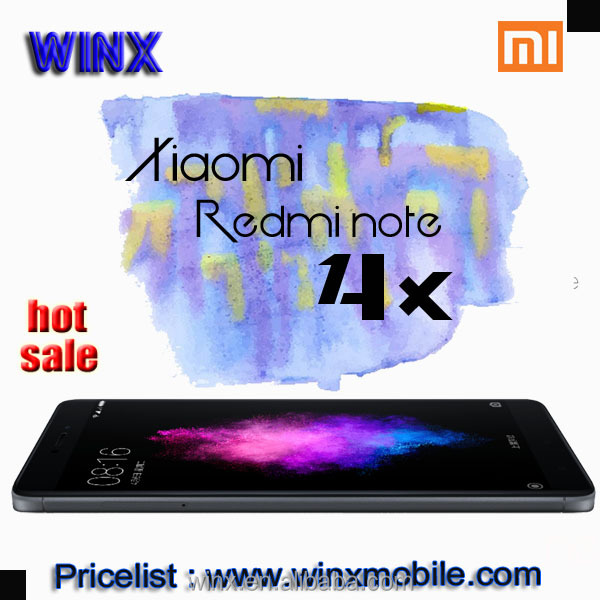 china wholesale for Original Xiaomi Redmi note 4x Deca Core 3GB RAM 32GB ROM 4100mAh Metal Body cell phone winx