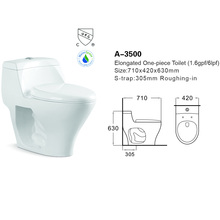 Sanitary Ware Washdown UPC one Piece Toilet