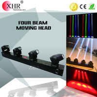 Stage Curtain Effect LED Lighting,4 Row LED Sharpy Beam Moving Head Light Bar