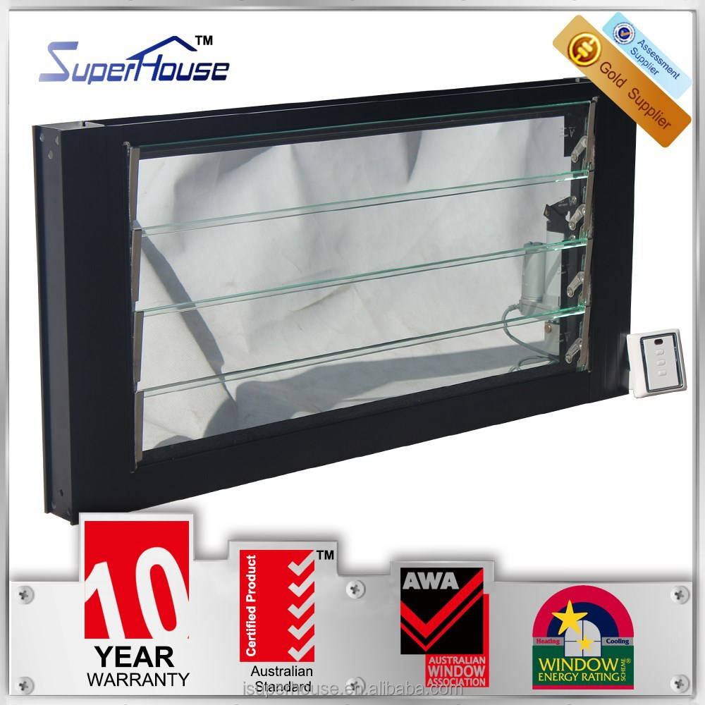 Australia standard electric window shutter exterior/interior skyview roof window with German hardware