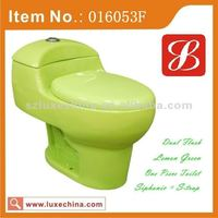 Sanitary ware toilet one piece squat toilet dual flush for disabled toilet