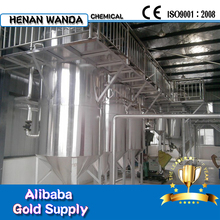 pyrolysis oil refine machine with ISO9001 automatic weldinge