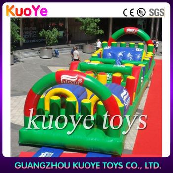 high quality obstacle commercial cheap inflatable obstacle course