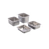 2/3 size stainless steel container steam table pan food pan