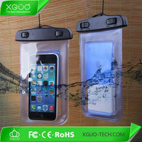 Hight quality waterproof case for moto g / x phone, PVC bag