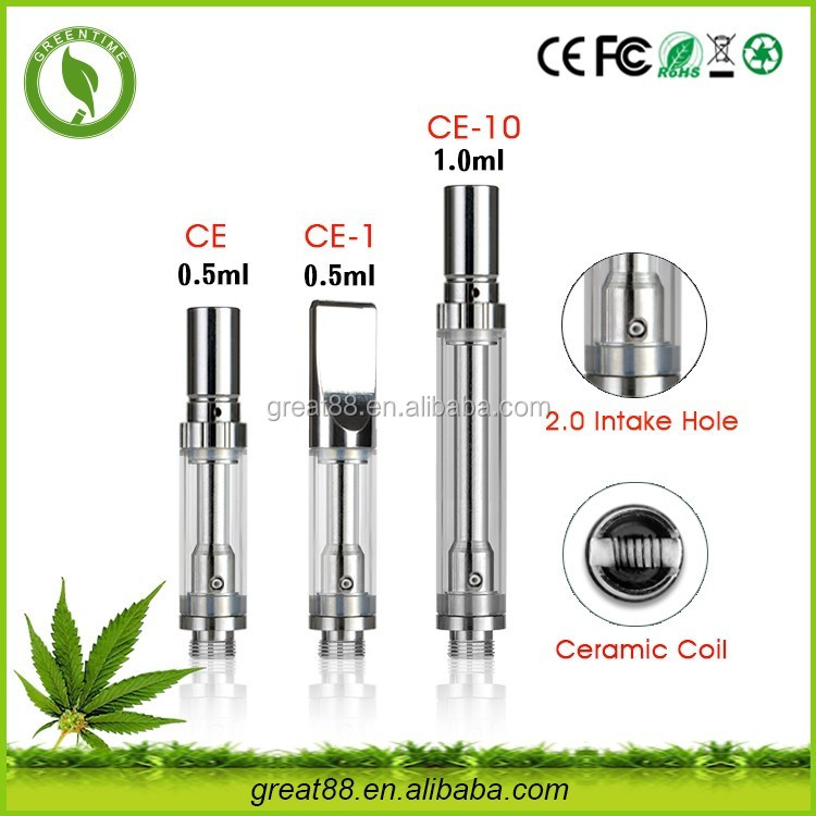 No leak dual coil disposable cbd oil 0..5/1.0 ml printer ink cartridge vape cartridge