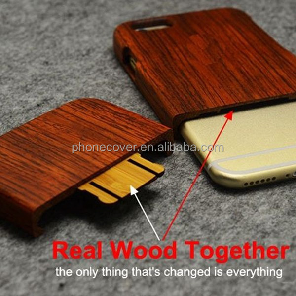 Durable carved cover laser engraving custom design wood cell phone case for iPhone5,for iPhone6,for iPhone 6s