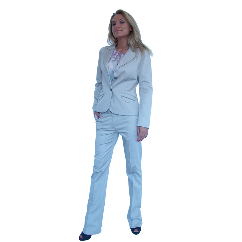 Latest Women formal suit 2 Piece Trousers and Blazer Office Work Business Suit Costume