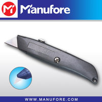 18mm Zinc Alloy Fixed Blade Utility Knife
