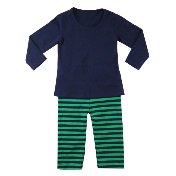 Yiwu Factory Bulk Wholesale Children's Boutique Clothing Simple Design Kids Cloths Boys Soft Sleeping Pajamas