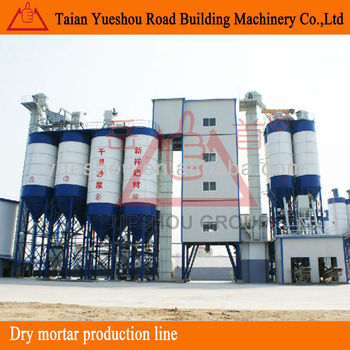 Dry mortar mixing plant with capacity 60t/h, Dry mortar production machinery