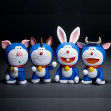 pvc Cartoon Figure Toys oem Animal Vinyl Toys Plastic Vinyl Toy, Doraemon figurines