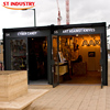 canada style new fashion 20ft container moving house