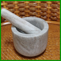 LD-178 2015 new arrival stone mortar and pestle sets -non-stick cookware sets