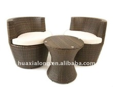 Milan Design Patio Natural Outdoor Furniture 3 PC set
