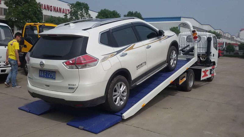 Dongfeng car carrier, tow truck for light vehicles