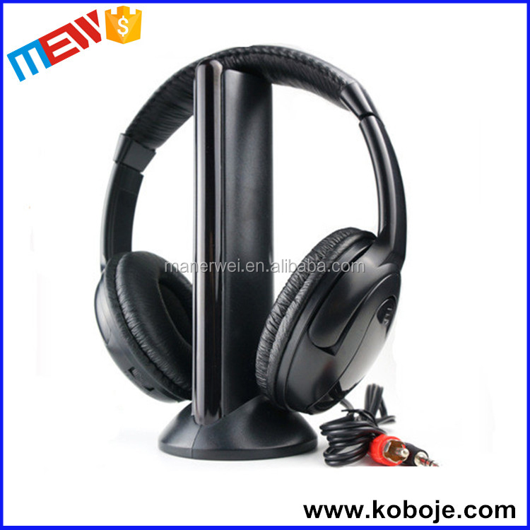 Luxury Wireless Monitor With Transmitter Cheap Headband Headphone