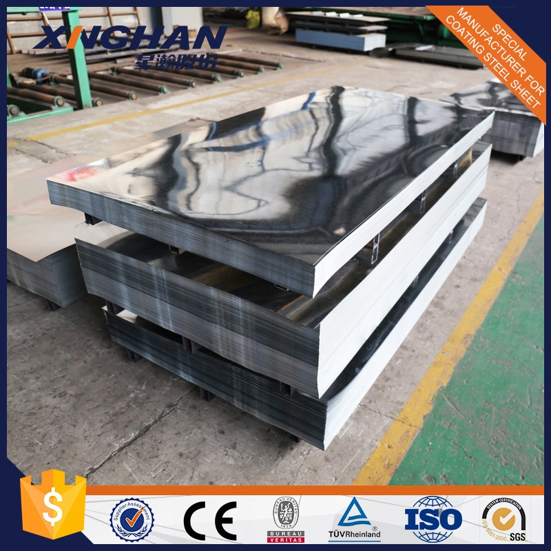 Shandong regular spangle galvanized steel metal iron plate