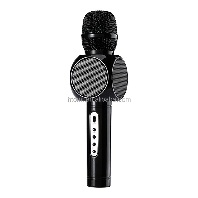 cheap wireless microphone/portable speaker microphone/digital microphone for Singing practice