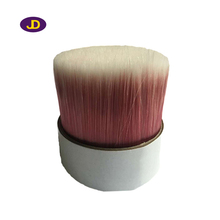 white mixture red single tapered PBT paint brush bristles filament