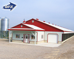 Industrial Steel Structure Chicken Shed Poultry House Design for Layers