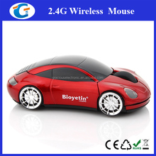 High Quality 2.4G Wireless Optical Race Car Mouse For PC/Laptop