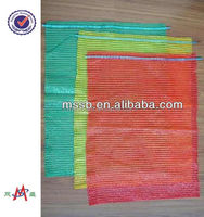 55*80 raschel raschel Vegetable packing mesh bag