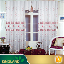 Latest Fashion design Indian style embroidery drapery stock curtain