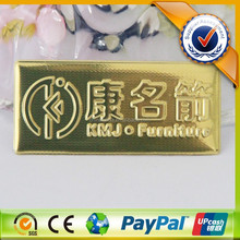Gold Color Decorative Metal Sign Letters, Metal Nameplate