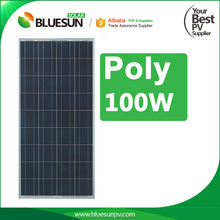 Bluesun quality guaranteed solar panel 100w 12v home solar panel manufacturer china