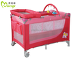 Multifunction Baby Playpen baby cribs with changing station and toy bar