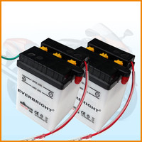 6v 4ah dry charged rechargeable battery/ motorcycle parts of moto storage battery
