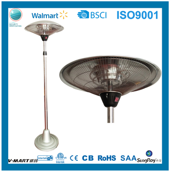 Factory Electric Halogen Patio Heater Carbon Fiber Infrared